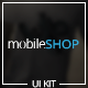 MobileShop - App Store UI Kit - GraphicRiver Item for Sale