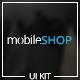 MobileShop - App Store UI Kit - GraphicRiver Item for Sale