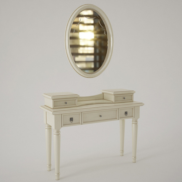 Camelgroup Nostalgia Dressing Table With Mirror