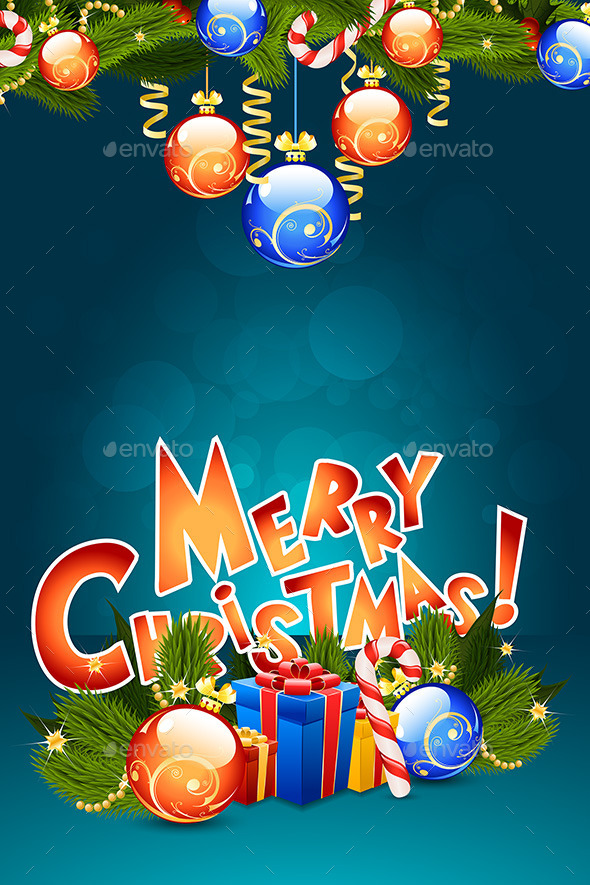 GraphicRiver Christmas Card Template 8832958