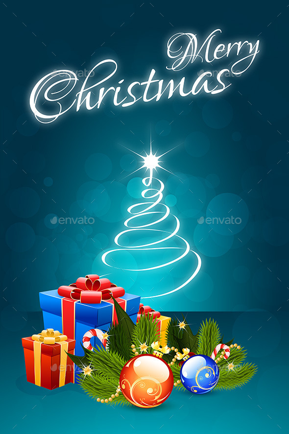 GraphicRiver Christmas Card 8832962