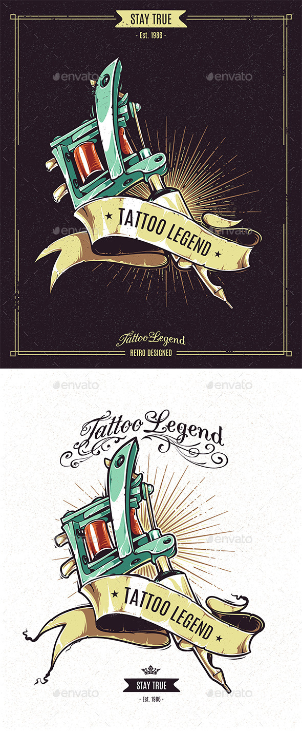 GraphicRiver Tattoo Legend 8834123