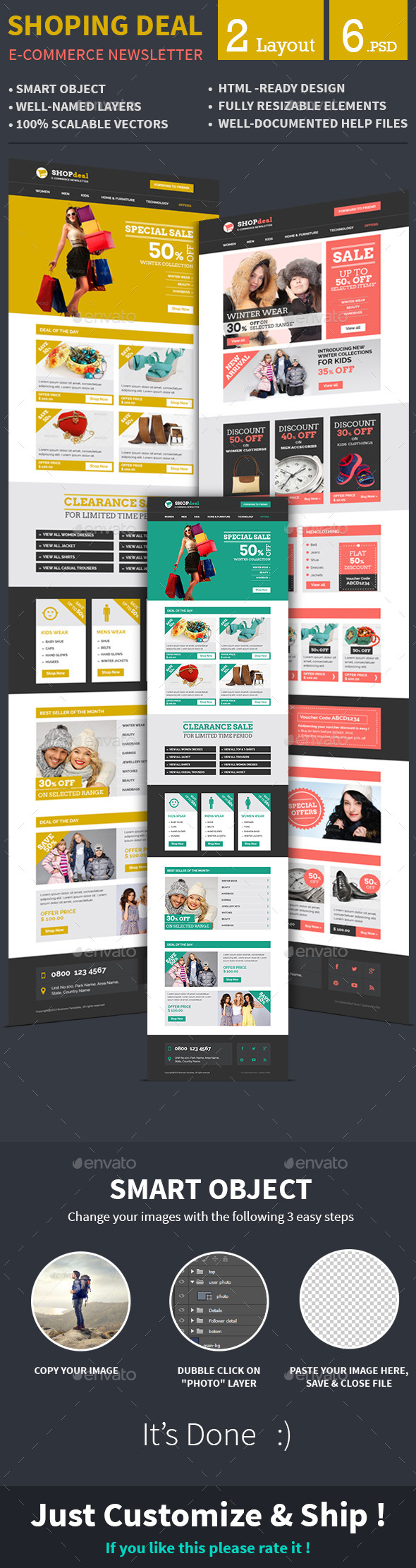 GraphicRiver E-commerce Special Offer Email Template 8835090