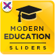 Education & College Sliders - GraphicRiver Item for Sale