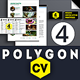 Polygon Resume - GraphicRiver Item for Sale