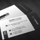 Black and White Corporate Card - GraphicRiver Item for Sale