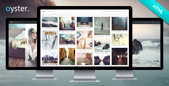 ThemeForest Oyster Creative Photography HTML Template 8836136