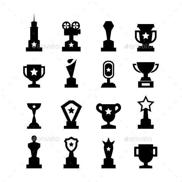 GraphicRiver Trophy Icons 8836147