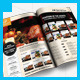 Restaurant SteakHouse Magazine Ad - GraphicRiver Item for Sale
