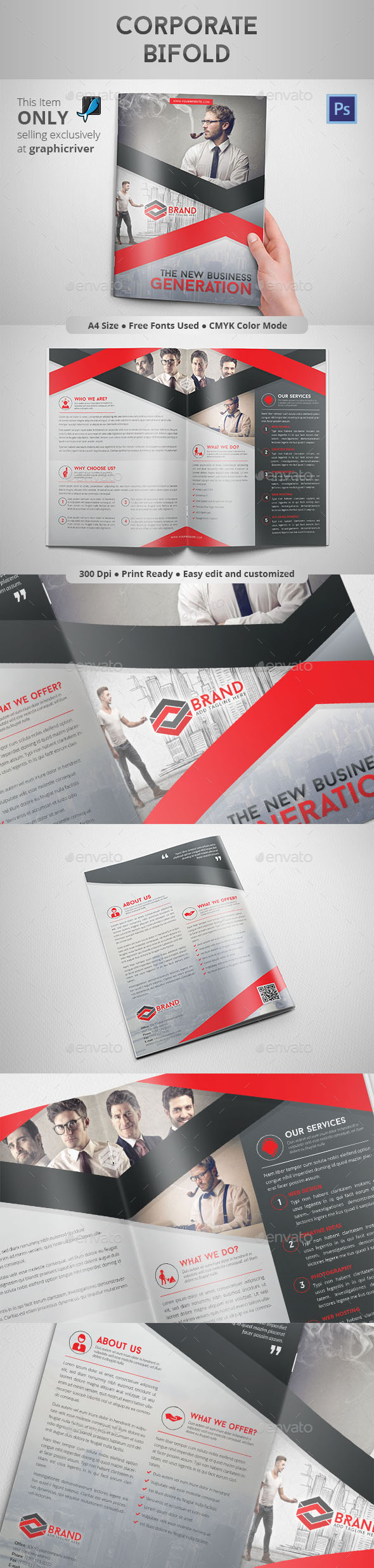 GraphicRiver Corporate Bifold 8836339