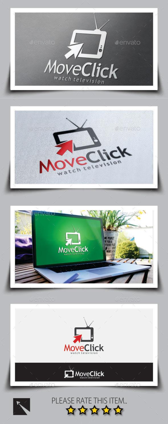 GraphicRiver Television Click Logo Template 8836494