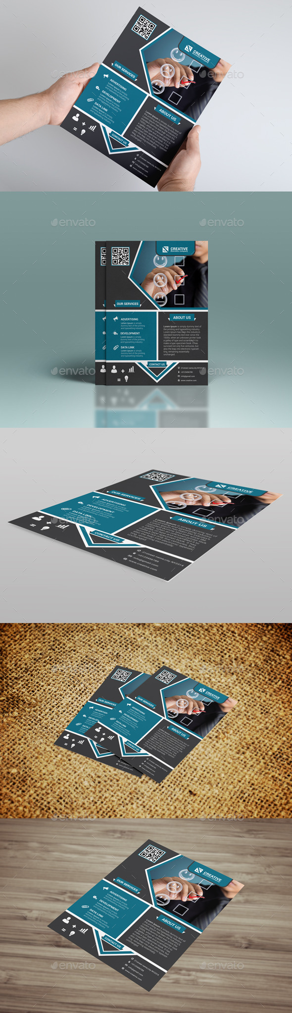 GraphicRiver Business Flyer 8823176
