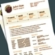 Chocolate Style-3 Pages Resume Template/CV - GraphicRiver Item for Sale