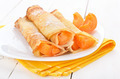 Pancakes with apricot slices - PhotoDune Item for Sale