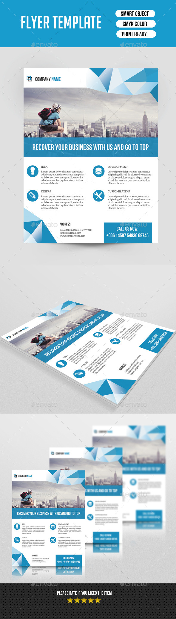 GraphicRiver Business Flyer-V129 8837354