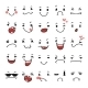 Doodle Facial Expressions Set For Humor Design - GraphicRiver Item for Sale
