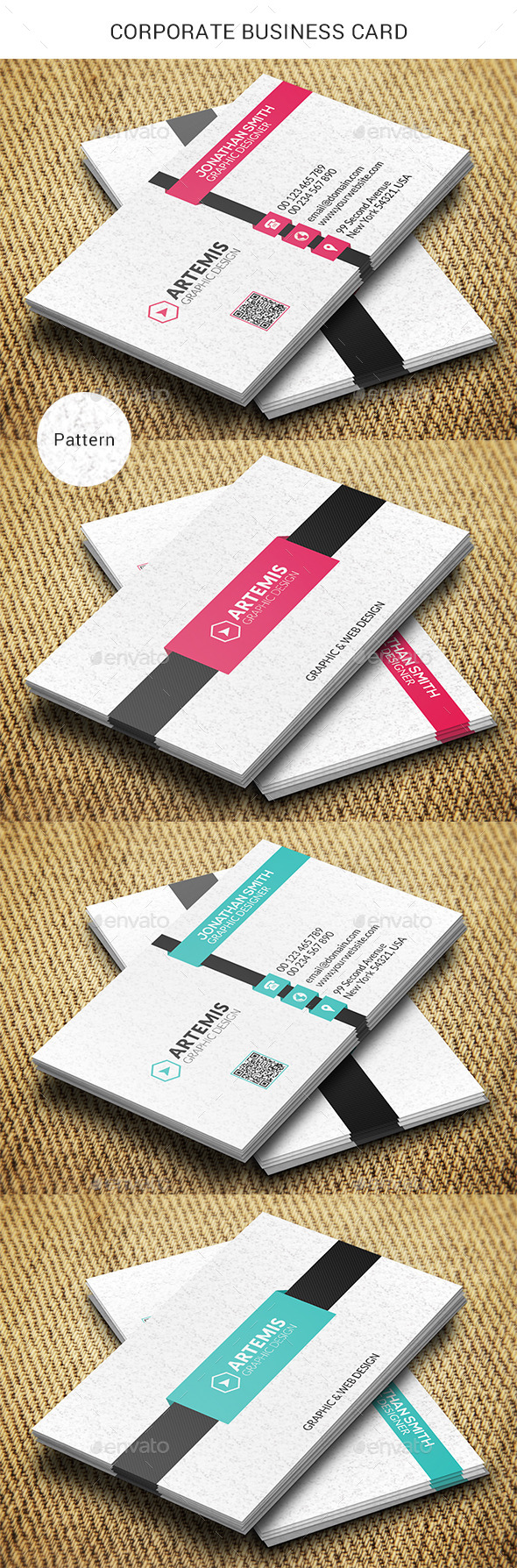 GraphicRiver Corporate Business Card 8838044
