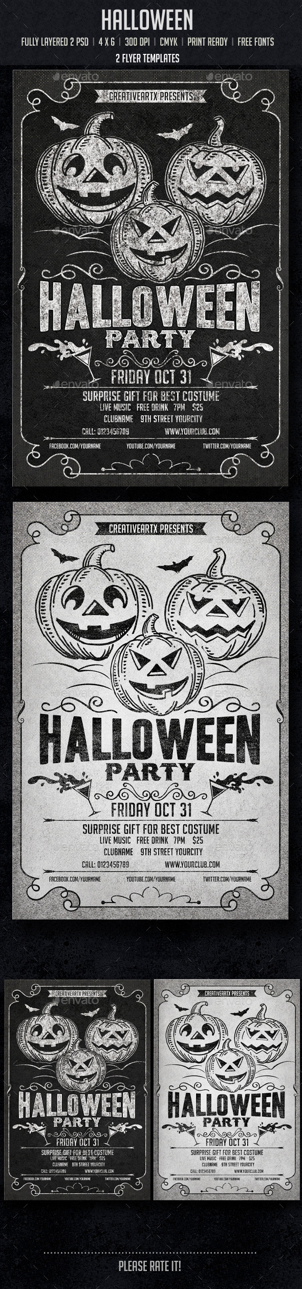 GraphicRiver Halloween 8838178