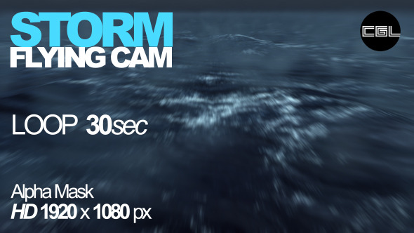Storm Flying Cam
