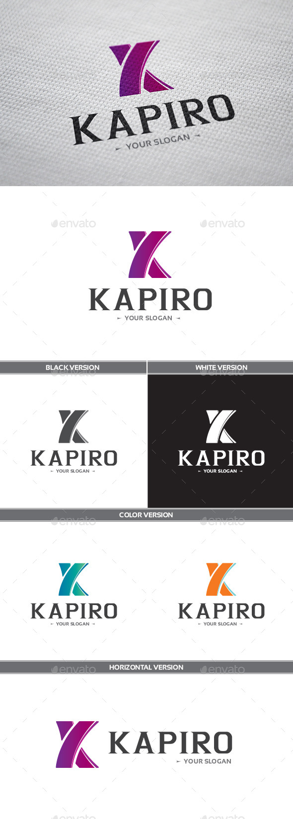 GraphicRiver Kapiro Logo 8838850