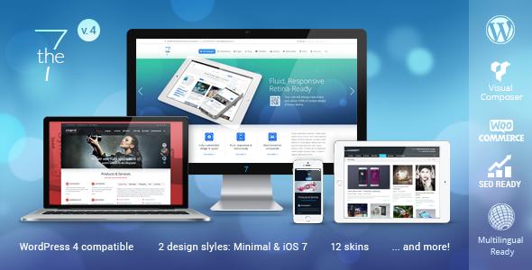 The7 — Responsive Multi-Purpose WordPress Theme