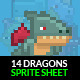 Dragon Sprite Sheet
