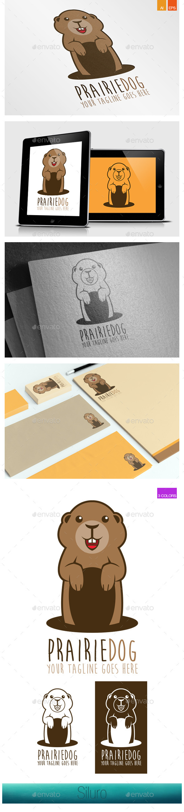 GraphicRiver Prairie Dog Logo 8839146