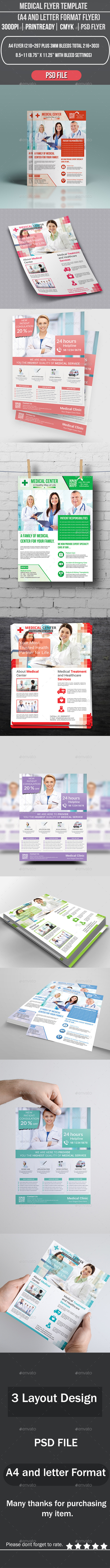 GraphicRiver Medical Flyer Template 8839272