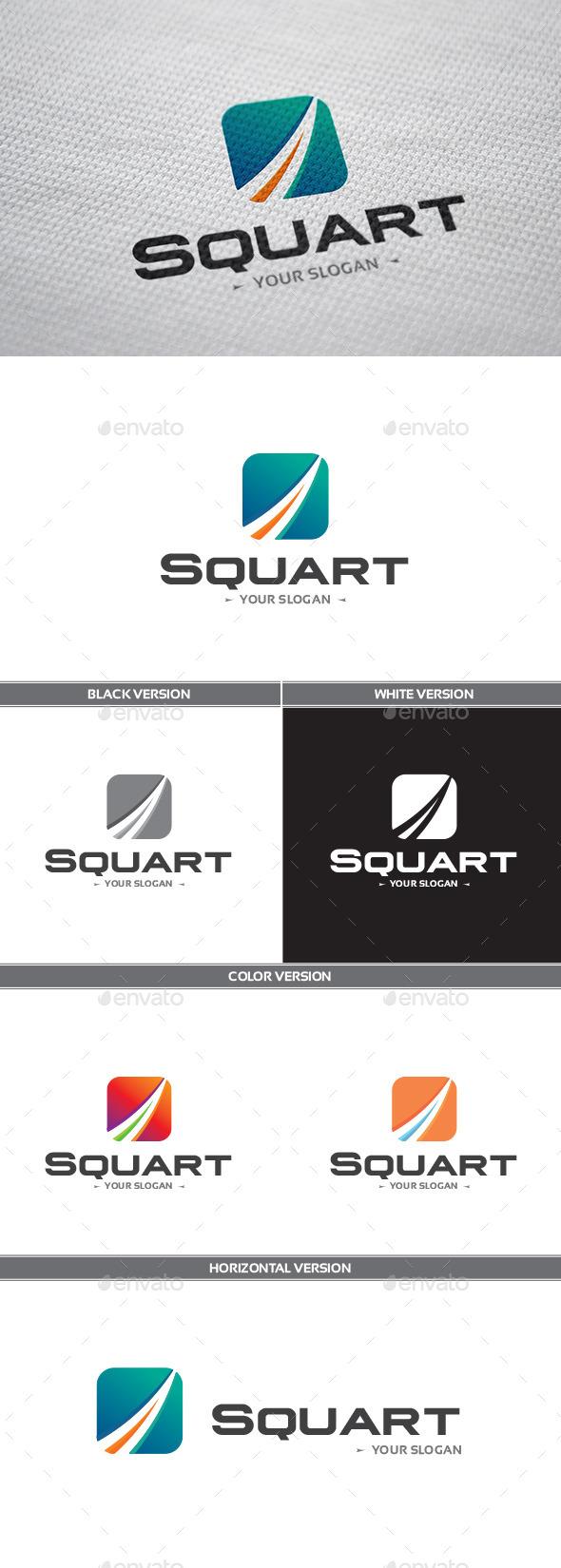 GraphicRiver Squart Logo 8839326