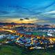 Hong Kong Yuen Long downtown sunset - PhotoDune Item for Sale