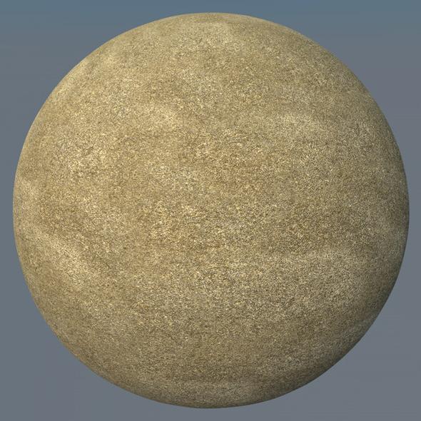 3DOcean Sand Landscape Shader 030 8839841
