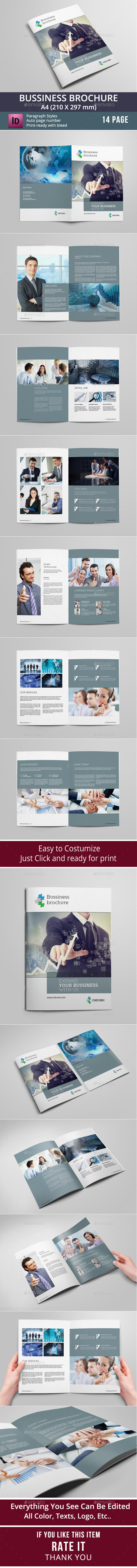 GraphicRiver Business Brochure Template 8840107
