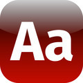 Enlarge font Internet button Icon App Apps AA - PhotoDune Item for Sale