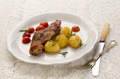 grilled rabbit leg and potato - PhotoDune Item for Sale