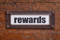 rewards- file cabinet label - PhotoDune Item for Sale