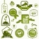 Green ECO Labels - GraphicRiver Item for Sale