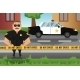 Policeman and Patrol Car - GraphicRiver Item for Sale