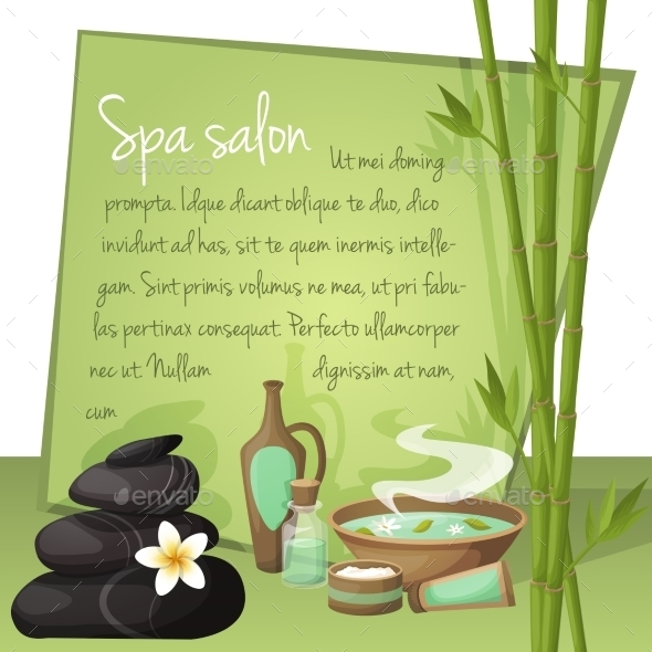 GraphicRiver Spa Salon Background 8840521