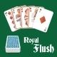 Poker Hand Royal Flush - GraphicRiver Item for Sale