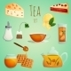Tea Decorative Set - GraphicRiver Item for Sale
