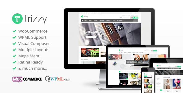 Trizzy - Multi-Purpose WooCommerce WordPress Theme - WooCommerce eCommerce