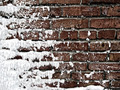 Snow covered Wall - PhotoDune Item for Sale
