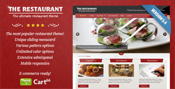 The Restaurant - Cart66 eCommerce