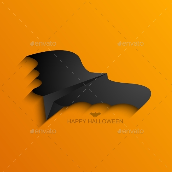 GraphicRiver Vector Modern Halloween Background 8841294