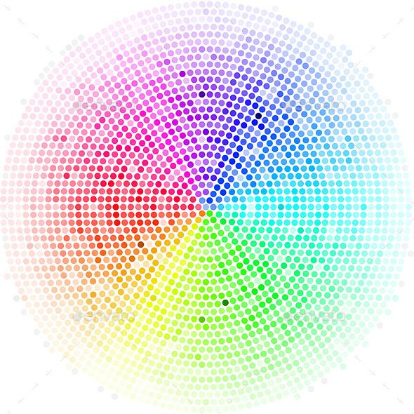 GraphicRiver Dots Digital Form 8841303