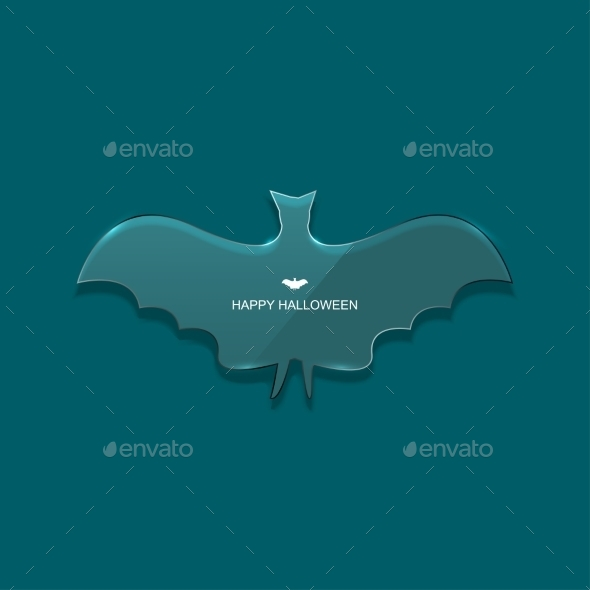 GraphicRiver Vector Modern Halloween Background 8841317