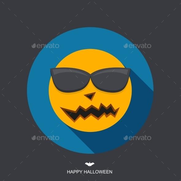 GraphicRiver Vector Modern Halloween Background 8841324