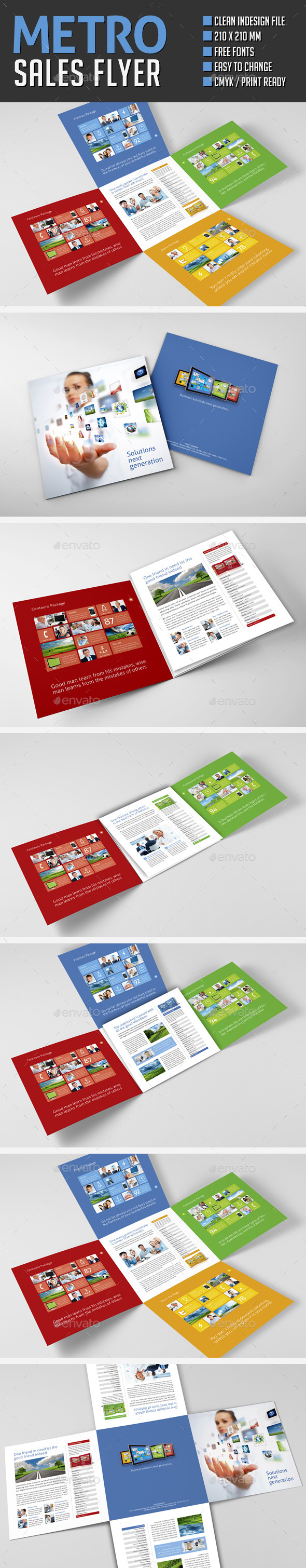 Metro Sales Folder - Corporate Flyers