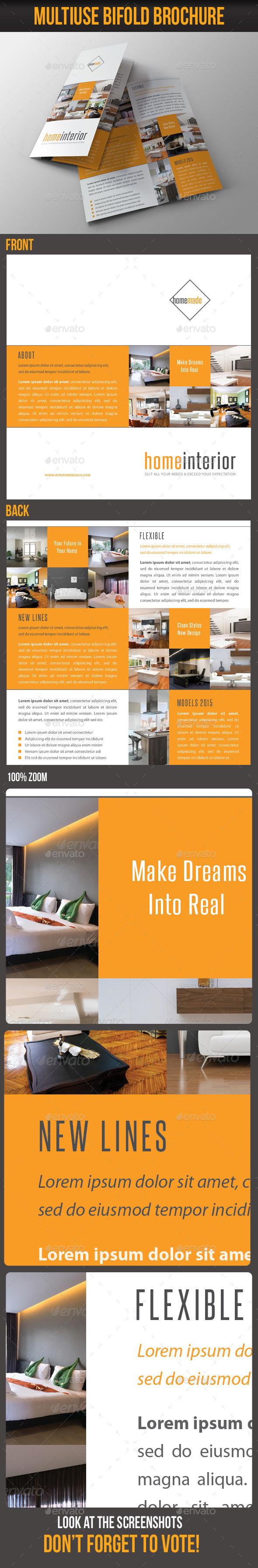 GraphicRiver Multiuse Bifold Brochure 66 8841530