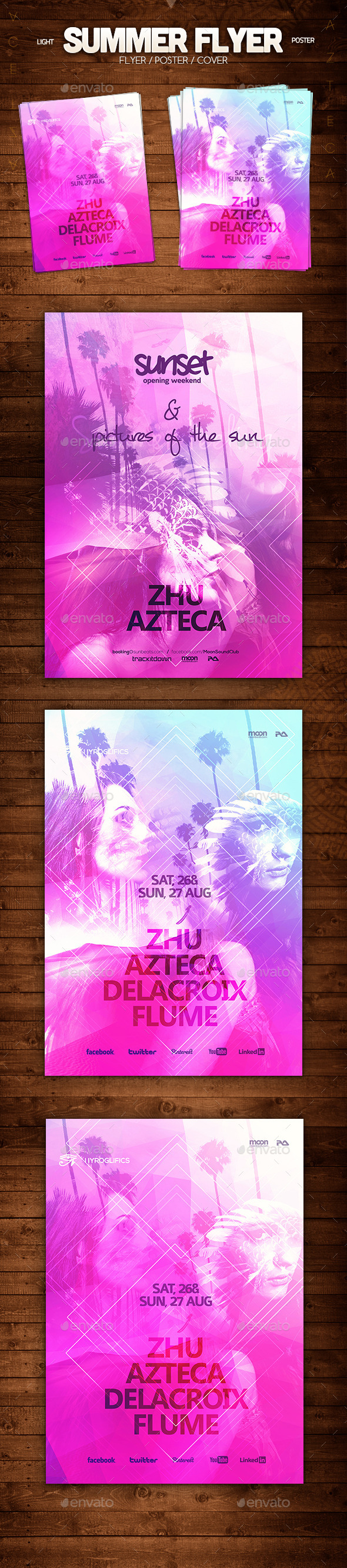 GraphicRiver Summer Flyer 8842385